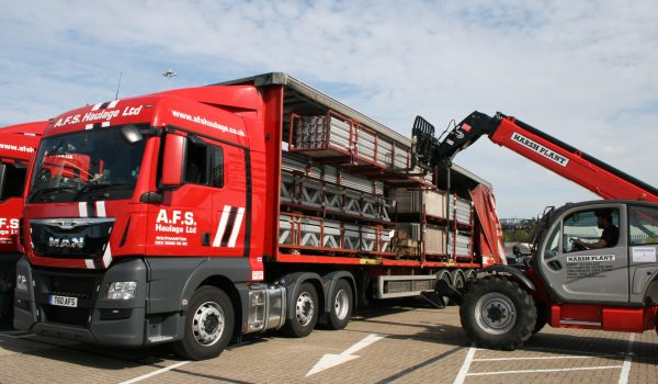 lorry delivery